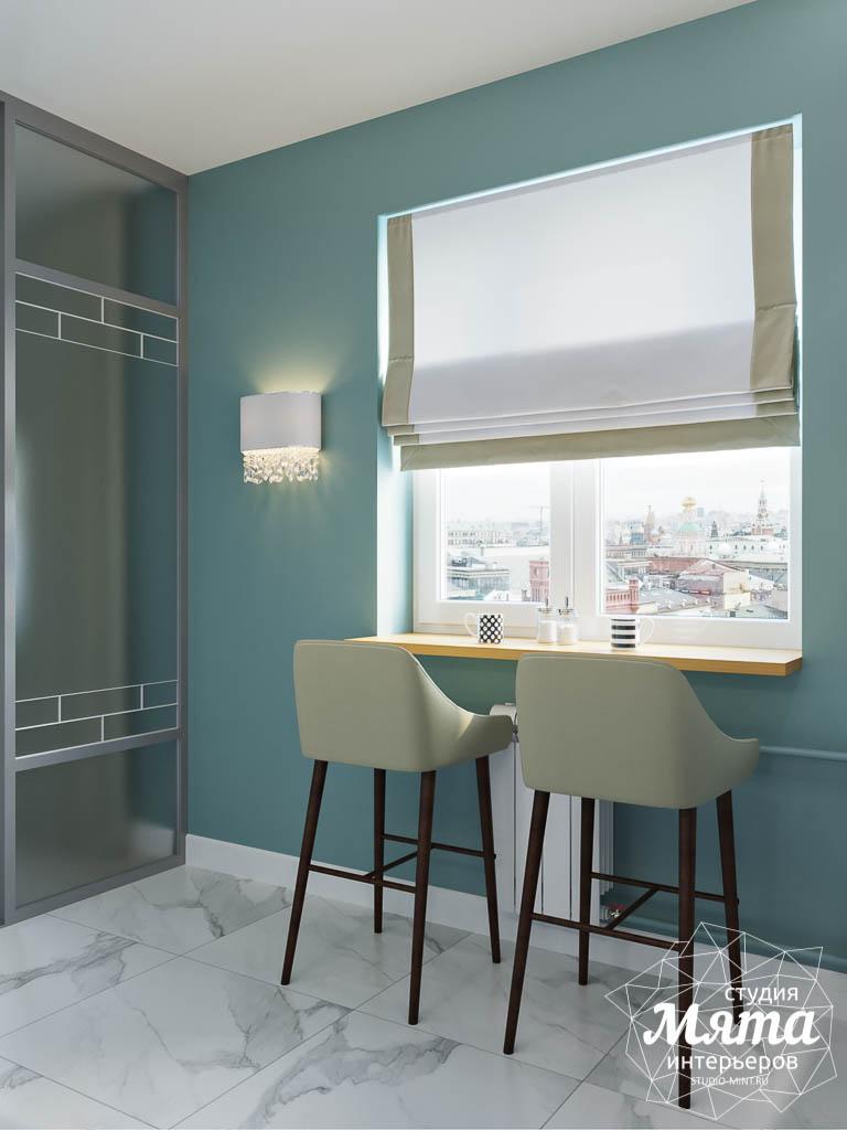 Дизайн интерьера однокомнатной квартиры пер. Встречный д. 5 img823551473
