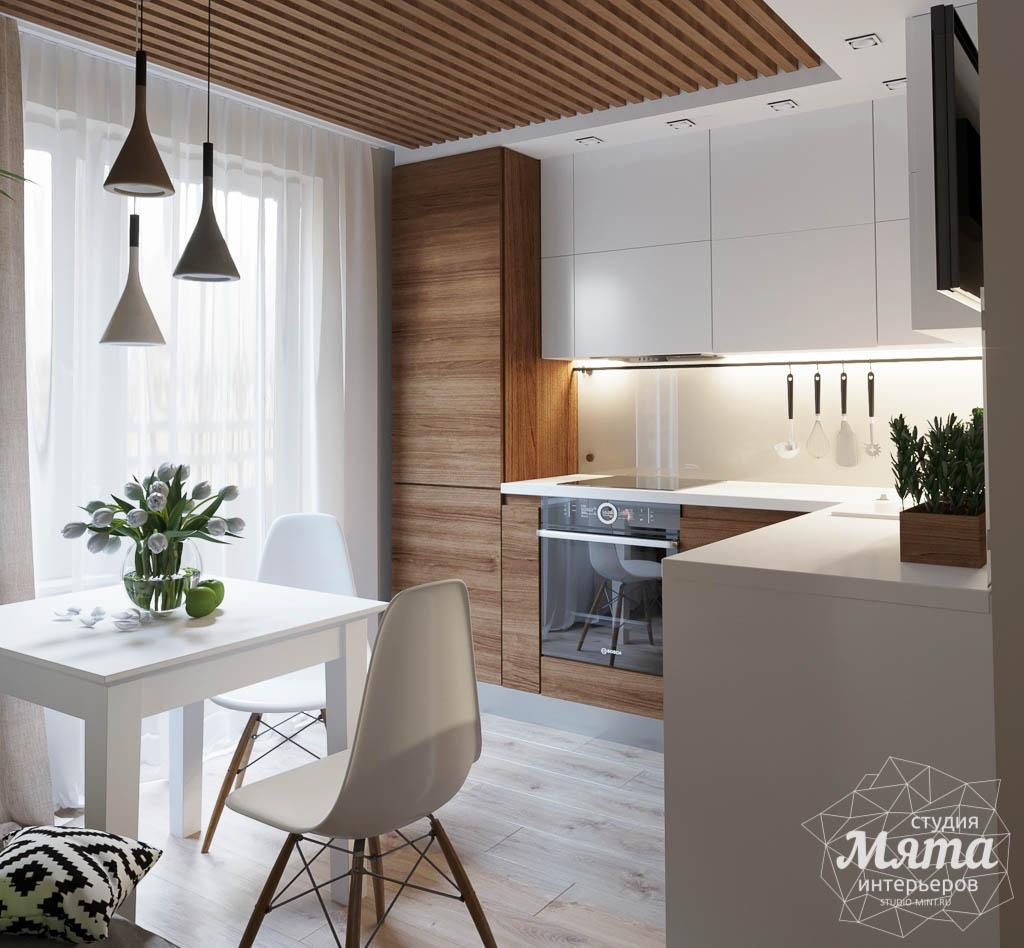 Дизайн интерьера двухкомнатной квартиры в ЖК Расточная img836262349