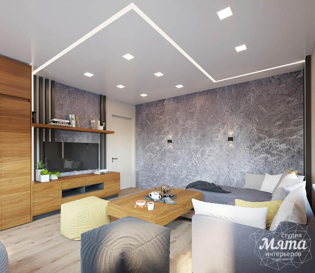 Дизайн интерьера двухкомнатной квартиры в ЖК Расточная img413025478