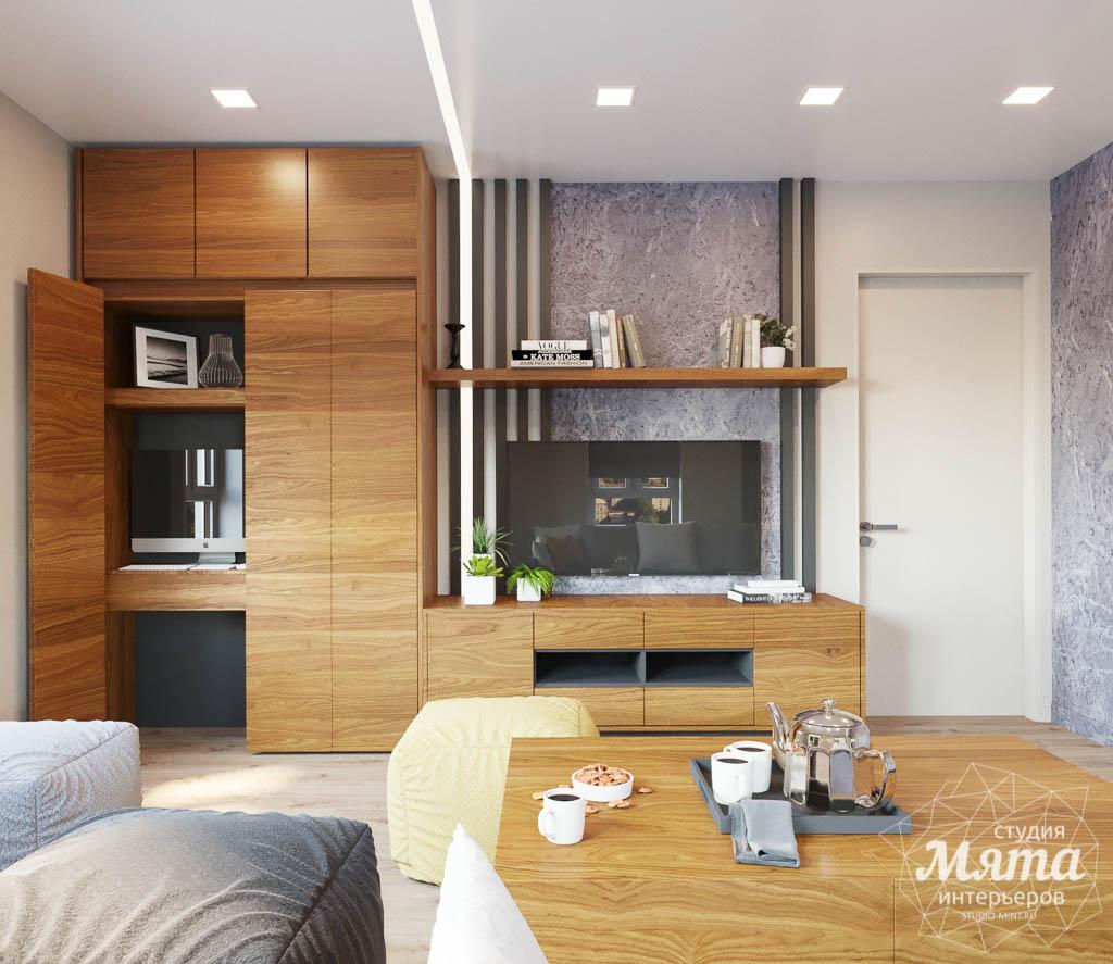Дизайн интерьера двухкомнатной квартиры в ЖК Расточная img1235621567