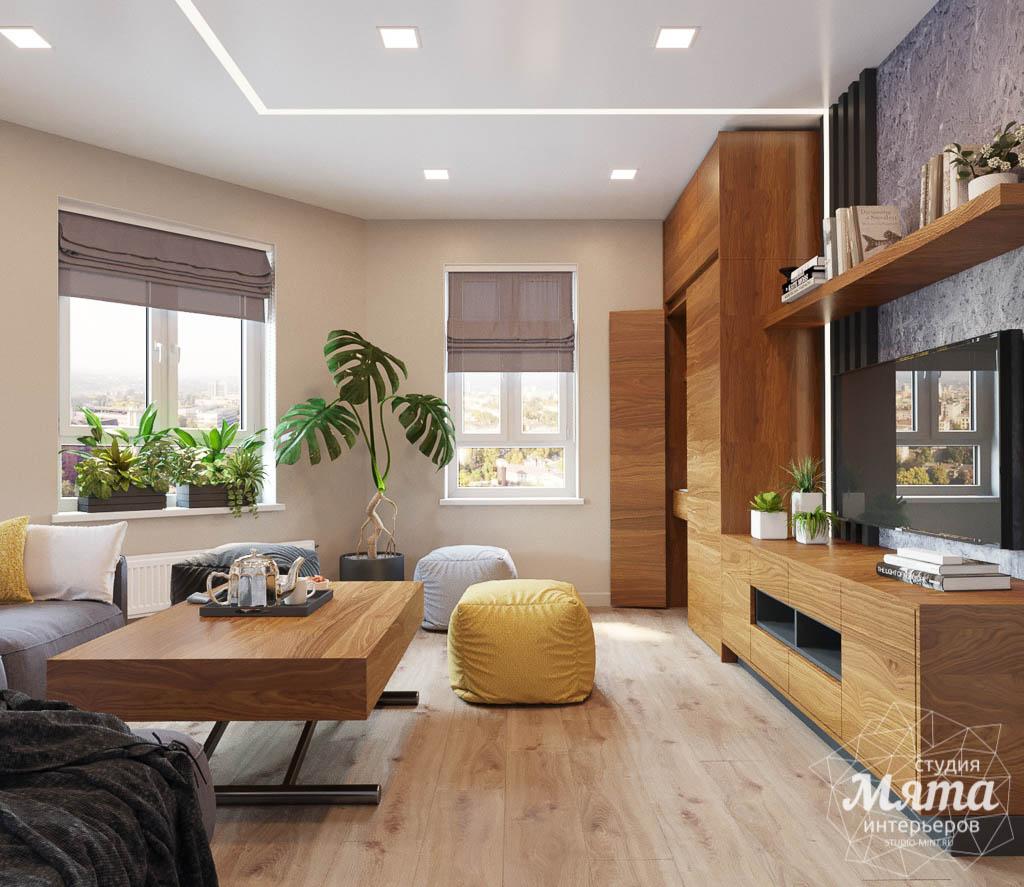 Дизайн интерьера двухкомнатной квартиры в ЖК Расточная img2086112325