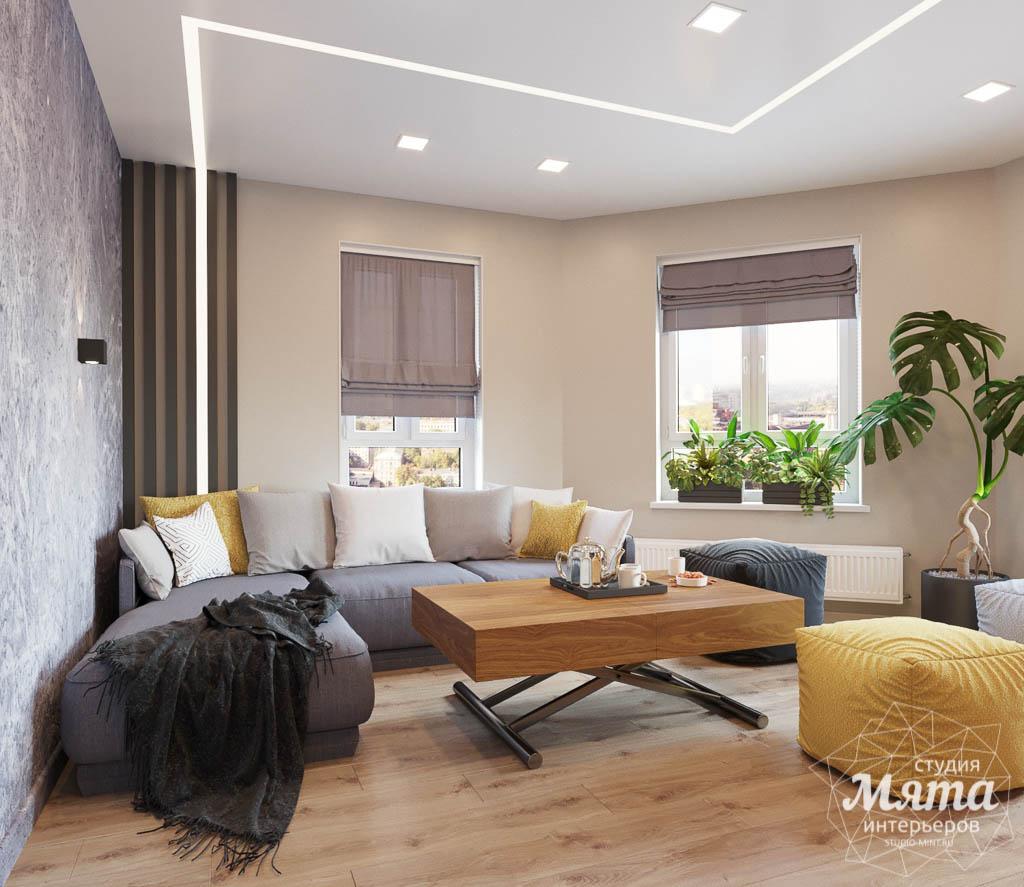 Дизайн интерьера двухкомнатной квартиры в ЖК Расточная img503296549