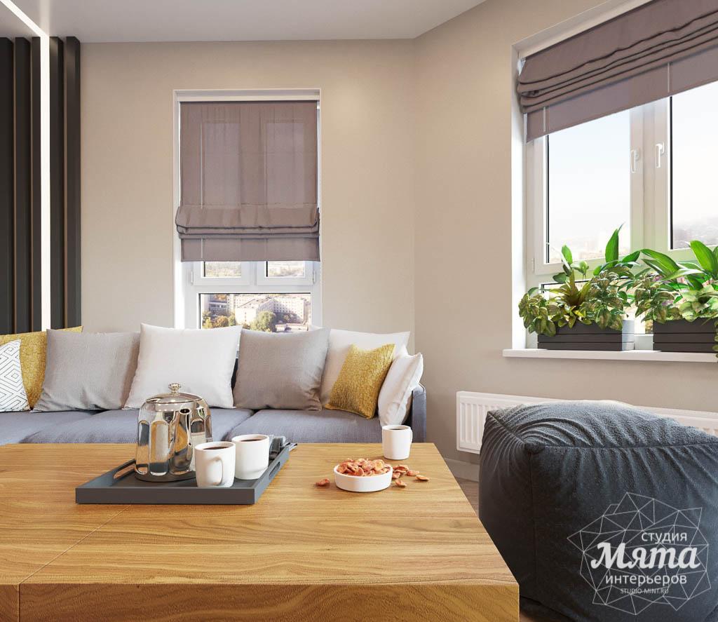 Дизайн интерьера двухкомнатной квартиры в ЖК Расточная img771427756