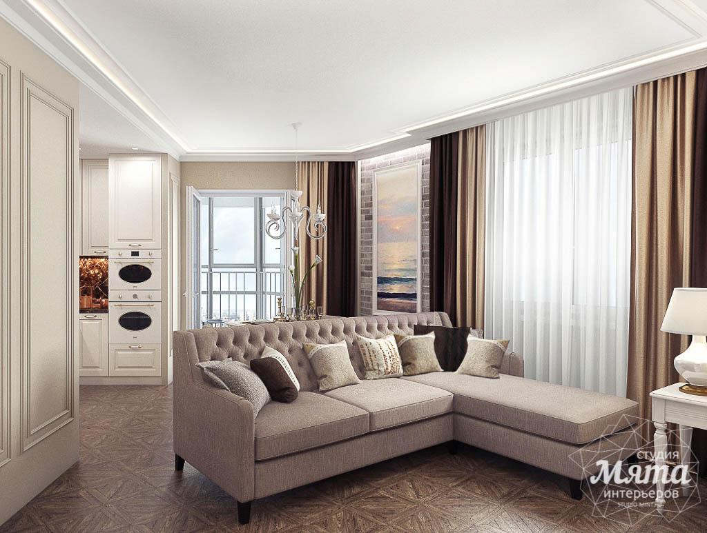 Дизайн интерьера гостиной и санузлов четырехкомнатной квартиры в ЖК Флагман img1640037983