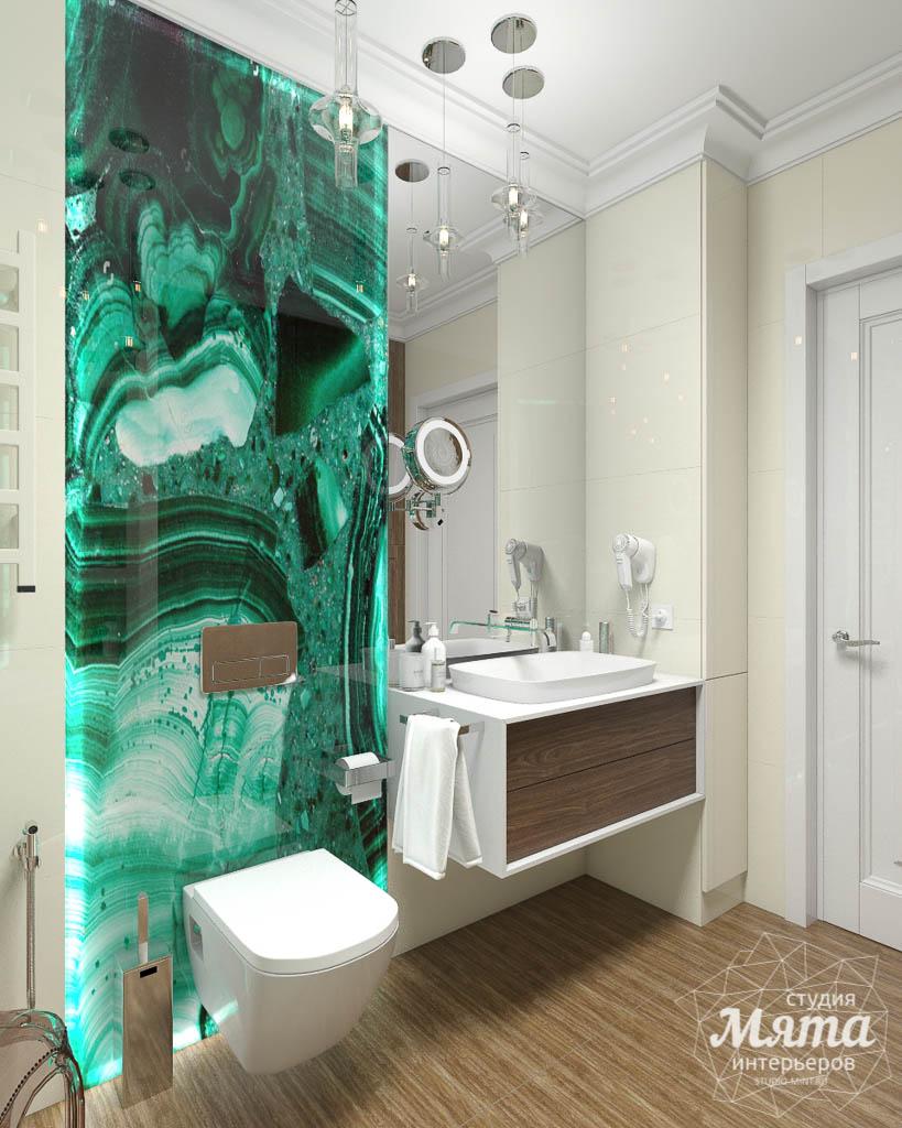 Дизайн интерьера гостиной и санузлов четырехкомнатной квартиры в ЖК Флагман img1184031861