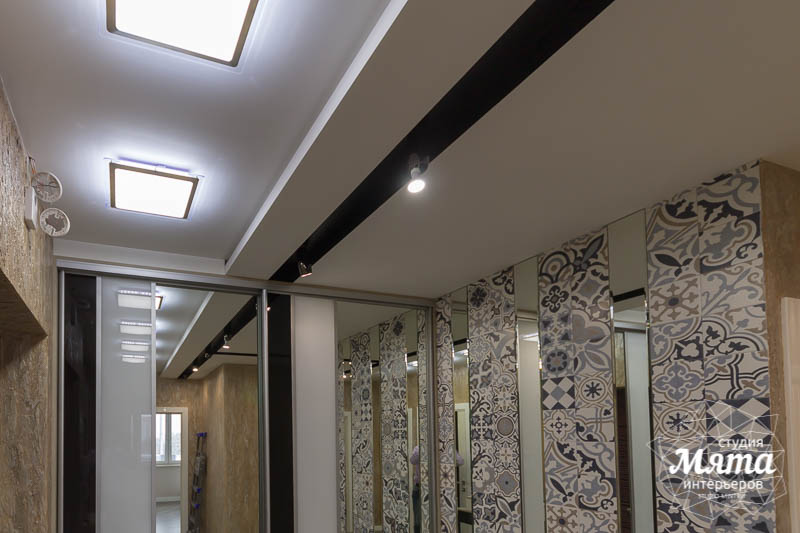 Дизайн интерьера и ремонт трехкомнатной квартиры по ул. Татищева 49 53