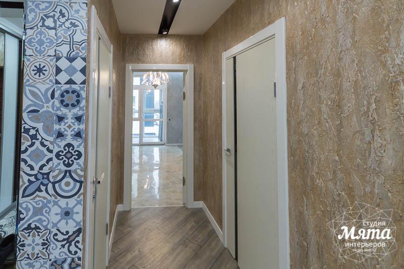 Дизайн интерьера и ремонт трехкомнатной квартиры по ул. Татищева 49 56