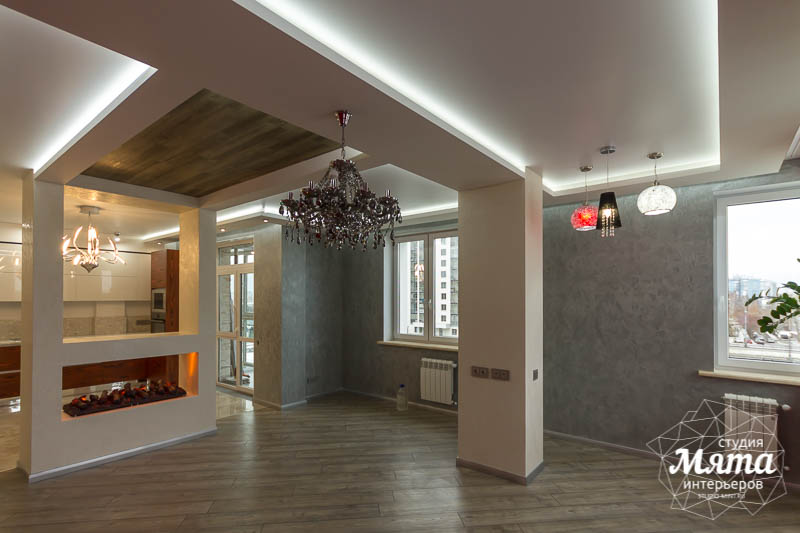 Дизайн интерьера и ремонт трехкомнатной квартиры по ул. Татищева 49 25