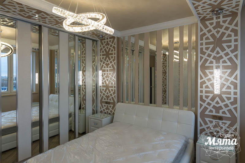 Дизайн интерьера и ремонт трехкомнатной квартиры по ул. Татищева 49 45