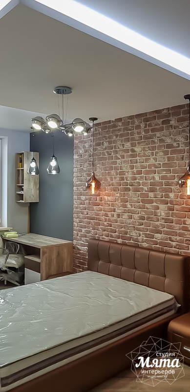 Дизайн интерьера и ремонт трехкомнатной квартиры по ул. Татищева 49 14