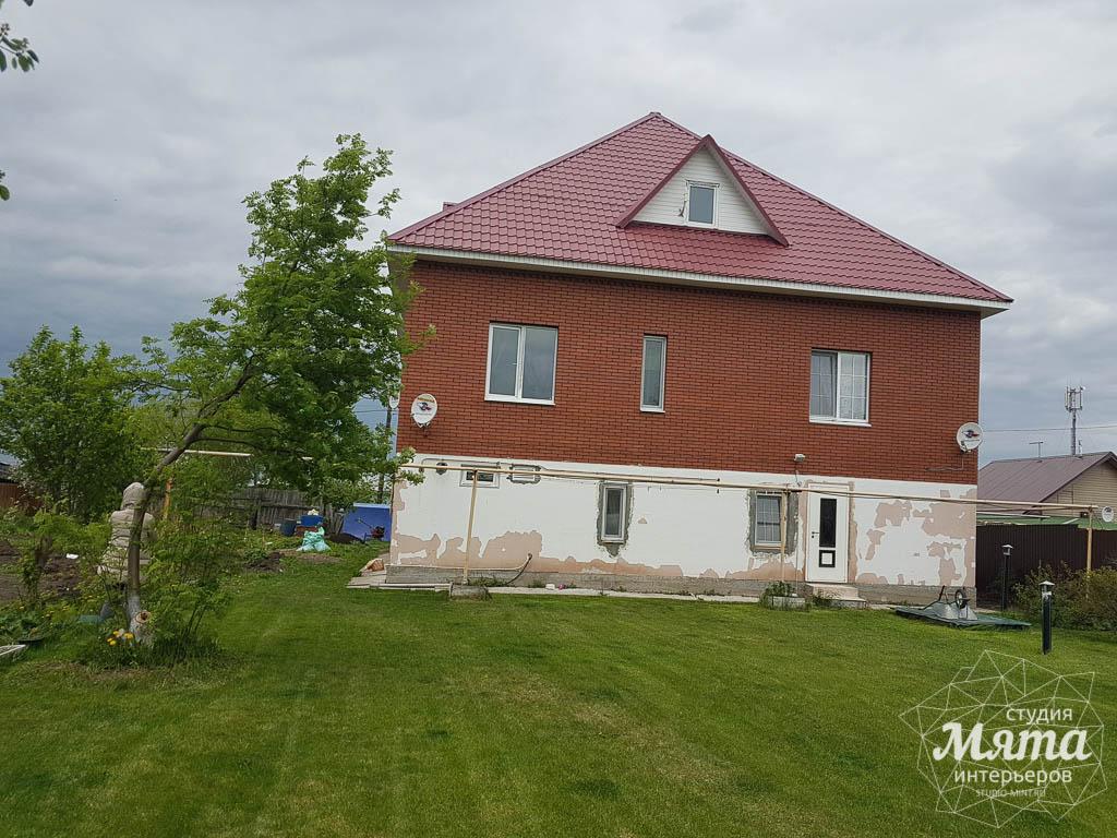 Дизайн фасада дома 532 м2 и бани 152 м2 г. Арамиль 4