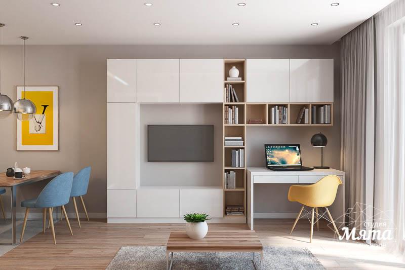 Дизайн интерьера двухкомнатной квартиры в ЖК Солнечный img309235833