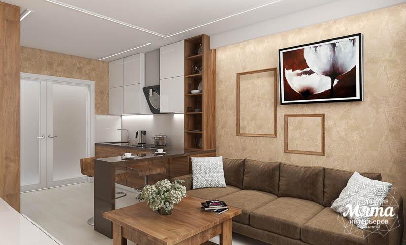 Дизайн интерьера двухкомнатной квартиры в ЖК Первый Николаевский img282280444