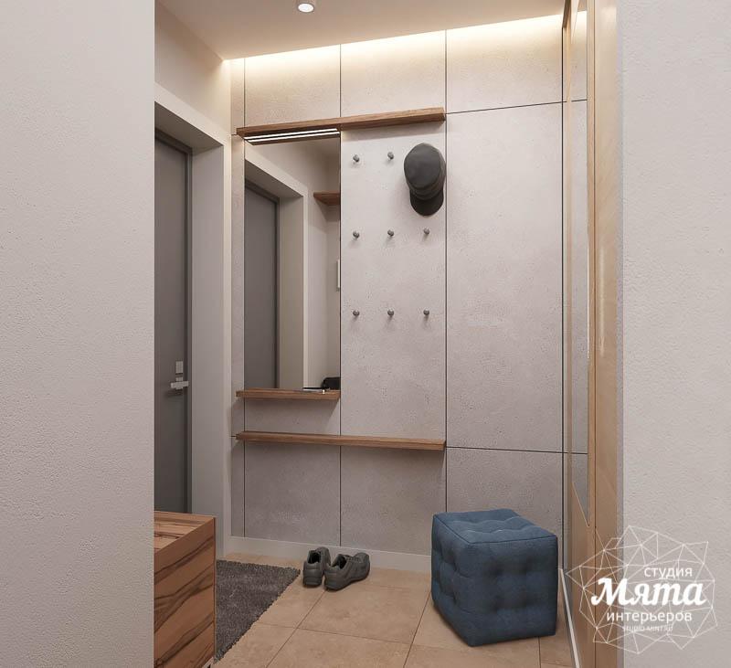 Дизайн интерьера двухкомнатной квартиры в ЖК Солнечный img233819099
