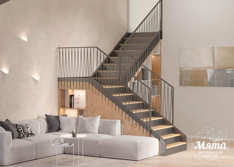 Дизайн интерьера гостиной в коттедже в г. Алапаевск img510489344