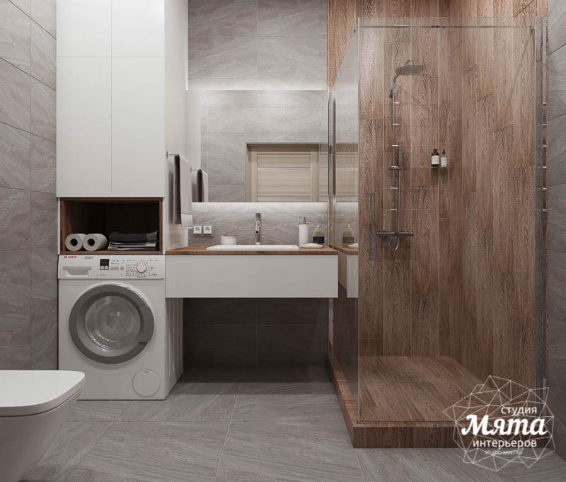 Дизайн интерьера ванных комнат двухуровневой квартиры в ЖК Современник img2109501029