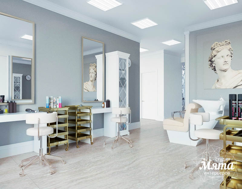 Дизайн интерьера и ремонт салона красоты в ЖК Флагман img948326574