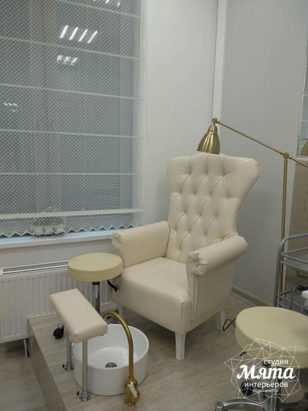 Дизайн интерьера и ремонт салона красоты в ЖК Флагман 11