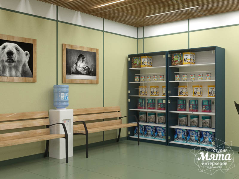 Дизайн интерьера ветеринарной станции г. Екатеринбурга img1993134808