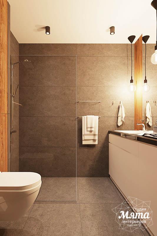 Дизайн интерьера квартиры - студии в ЖК Солнечный img2023381699