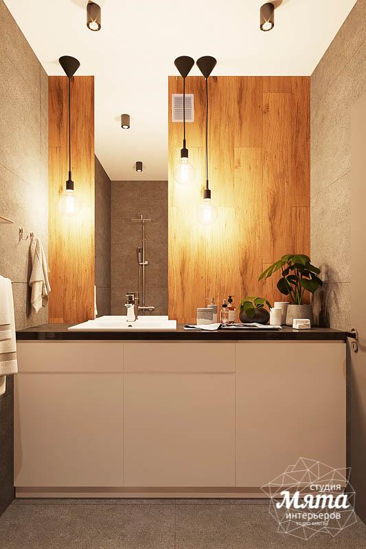 Дизайн интерьера квартиры - студии в ЖК Солнечный img2072046493
