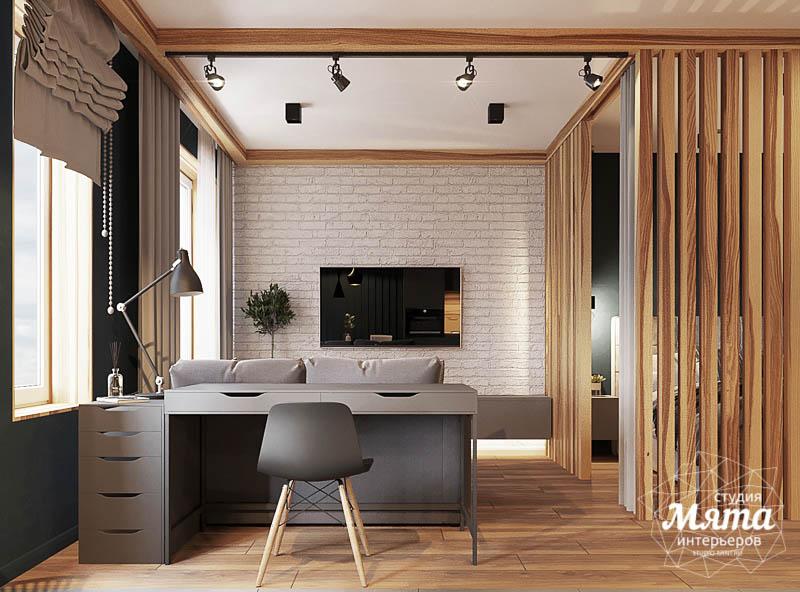 Дизайн интерьера квартиры - студии в ЖК Солнечный img1614812601