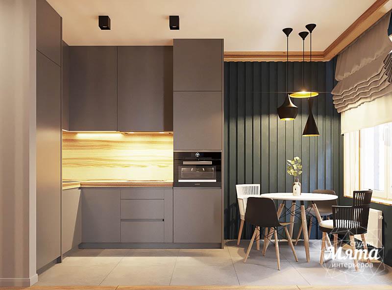 Дизайн интерьера квартиры - студии в ЖК Солнечный img335269047