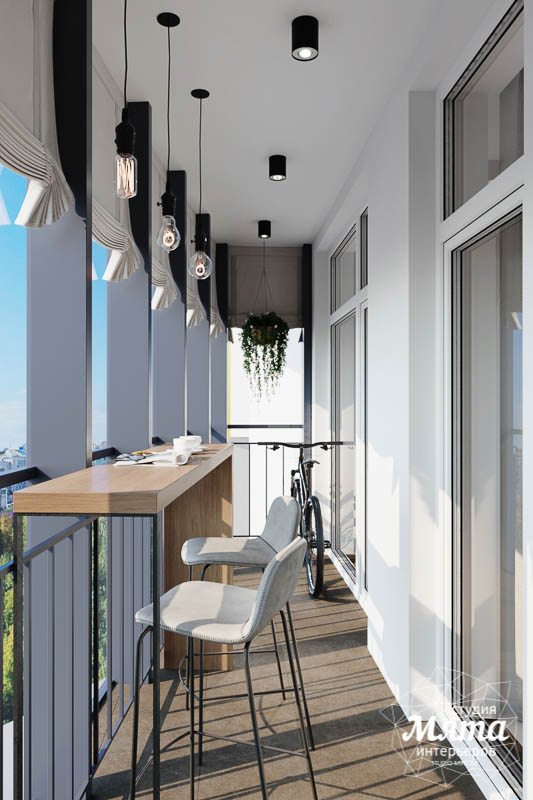 Дизайн интерьера трехкомнатной квартиры в ЖК Чемпион Парк img706590420