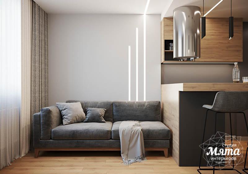 Дизайн интерьера однокомнатной квартиры в ЖК Оазис img876543377