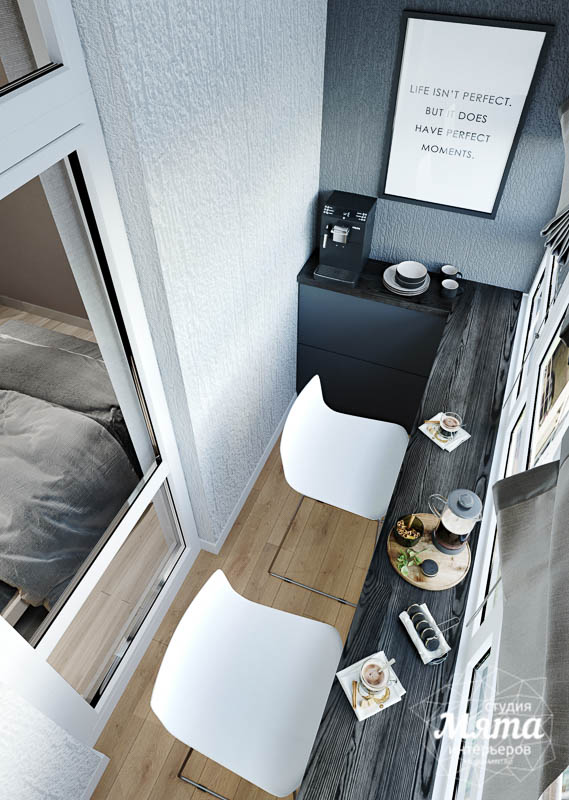 Дизайн интерьера однокомнатной квартиры в ЖК Оазис img1209438221