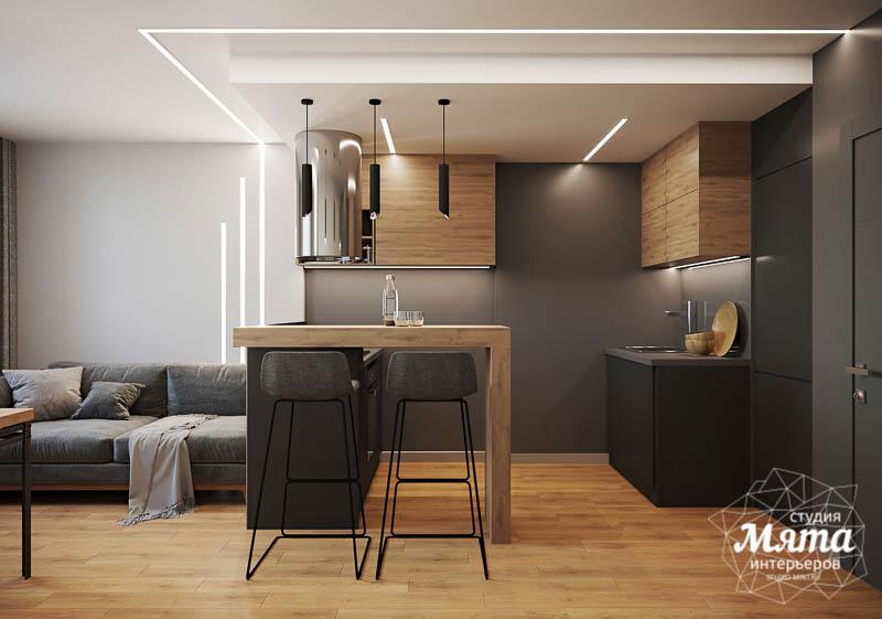 Дизайн интерьера однокомнатной квартиры в ЖК Оазис img1310599802