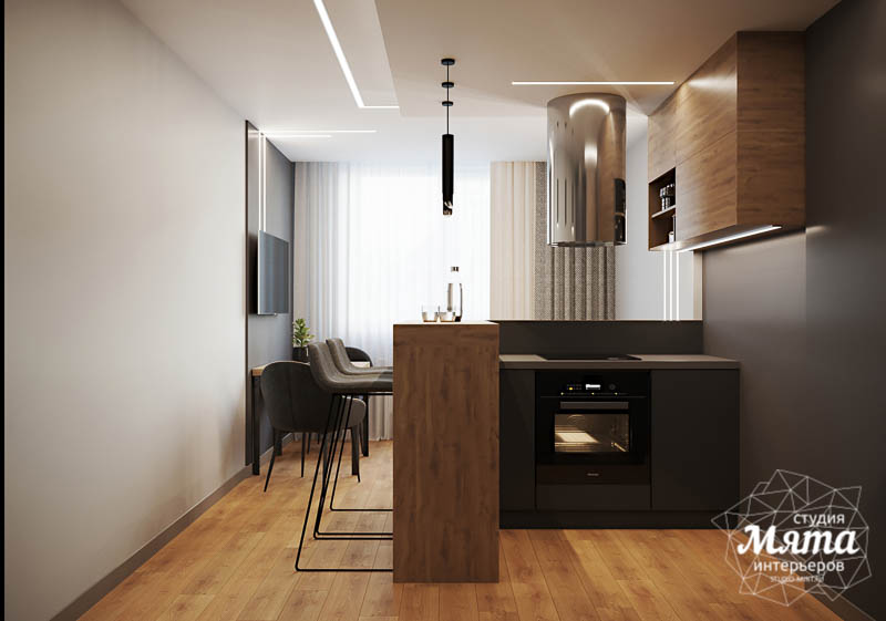 Дизайн интерьера однокомнатной квартиры в ЖК Оазис img384406290