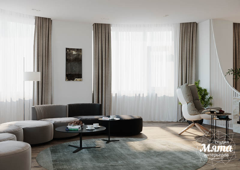 Дизайн интерьера трехкомнатной квартиры в ЖК Чемпион Парк img307317898