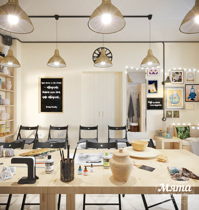 Дизайн интерьера Гончарной студии г. Асбест img600799645