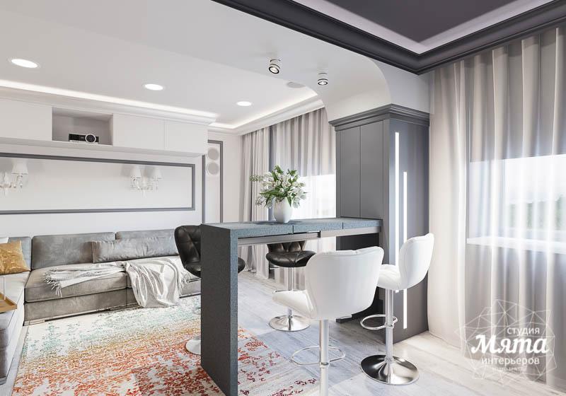 Дизайн интерьера домашнего кинотеатра в коттедже п. Кашино img1442176506