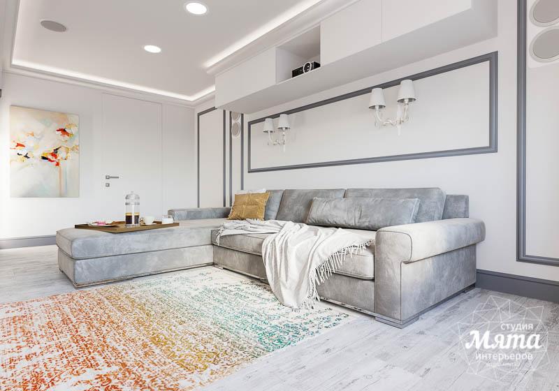Дизайн интерьера домашнего кинотеатра в коттедже п. Кашино img402826176