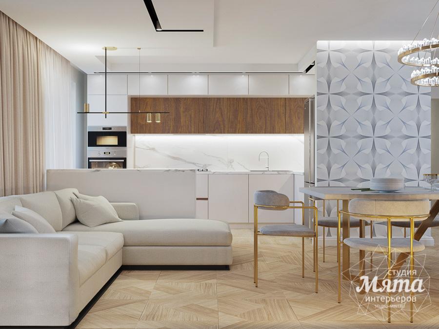 Дизайн интерьера трехкомнатной квартиры в современном стиле, ул. Репина 17а img846926724