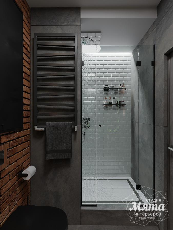Дизайн интерьера квартиры в стиле лофт ЖК Солнечный Остров img1070759986