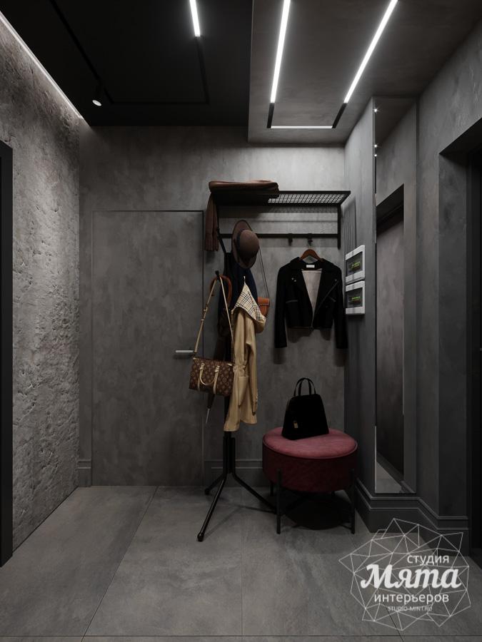 Дизайн интерьера квартиры в стиле лофт ЖК Солнечный Остров img1174182063