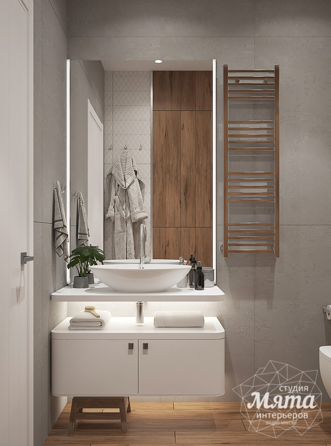 Дизайн интерьера трехкомнатной квартиры ЖК Клевер Парк img2097336208