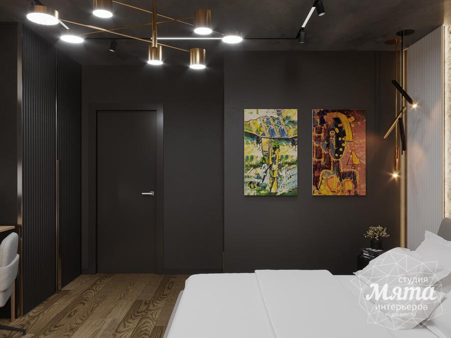 Дизайн интерьера квартиры в стиле лофт ЖК Солнечный Остров img645975772
