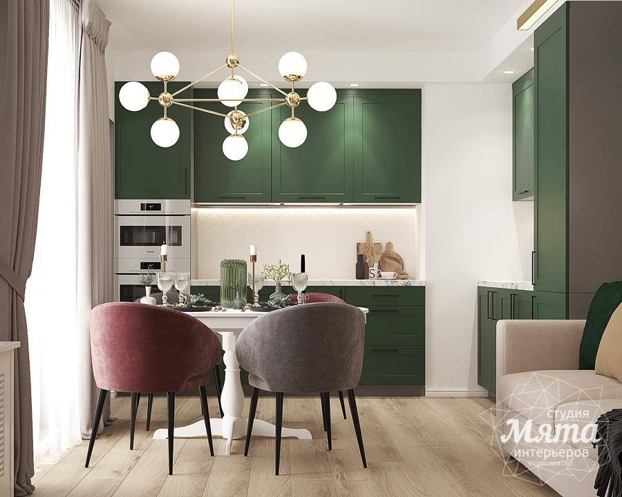 Дизайн интерьера однокомнатной квартиры ЖК Цветной Бульвар img448343484