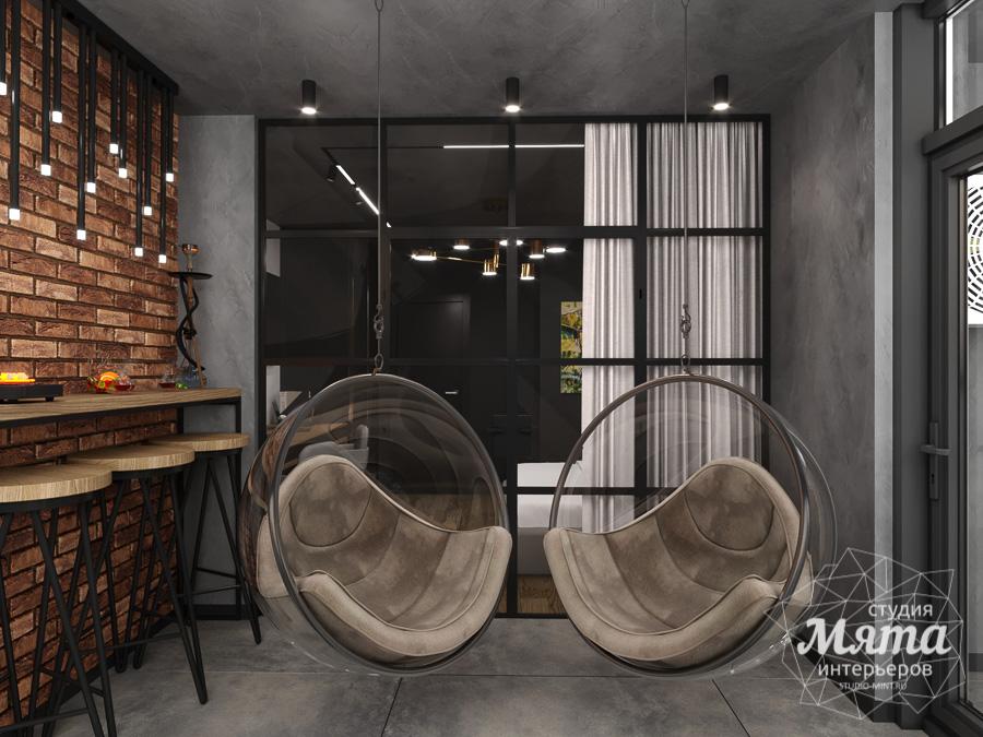 Дизайн интерьера квартиры в стиле лофт ЖК Солнечный Остров img637251902