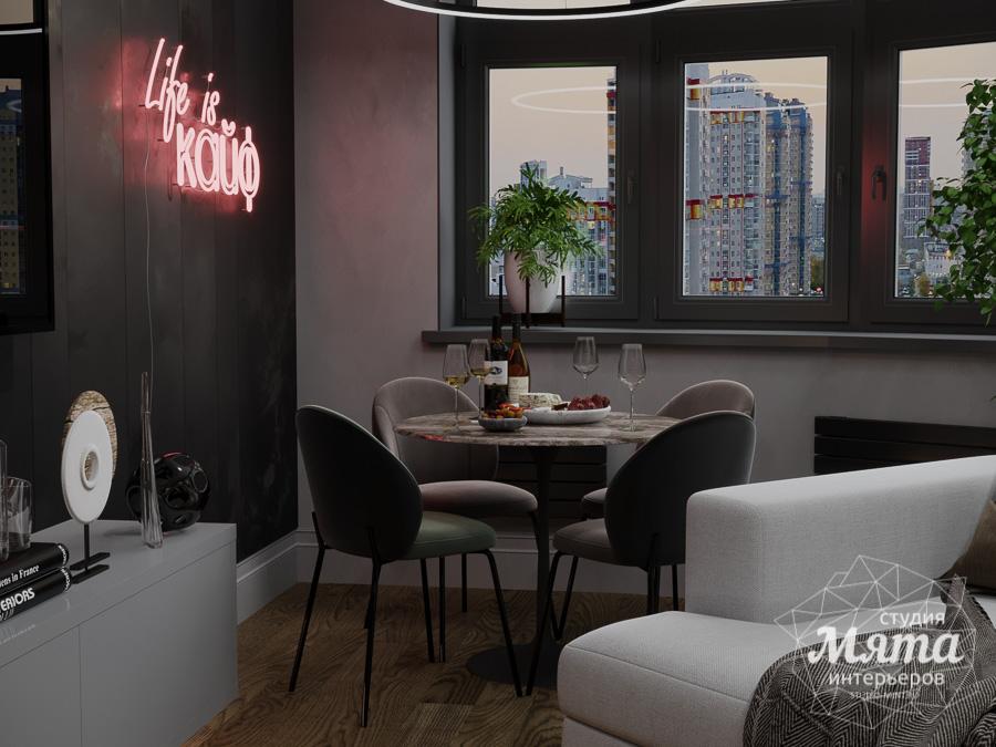 Дизайн интерьера квартиры в стиле лофт ЖК Солнечный Остров img2026536513