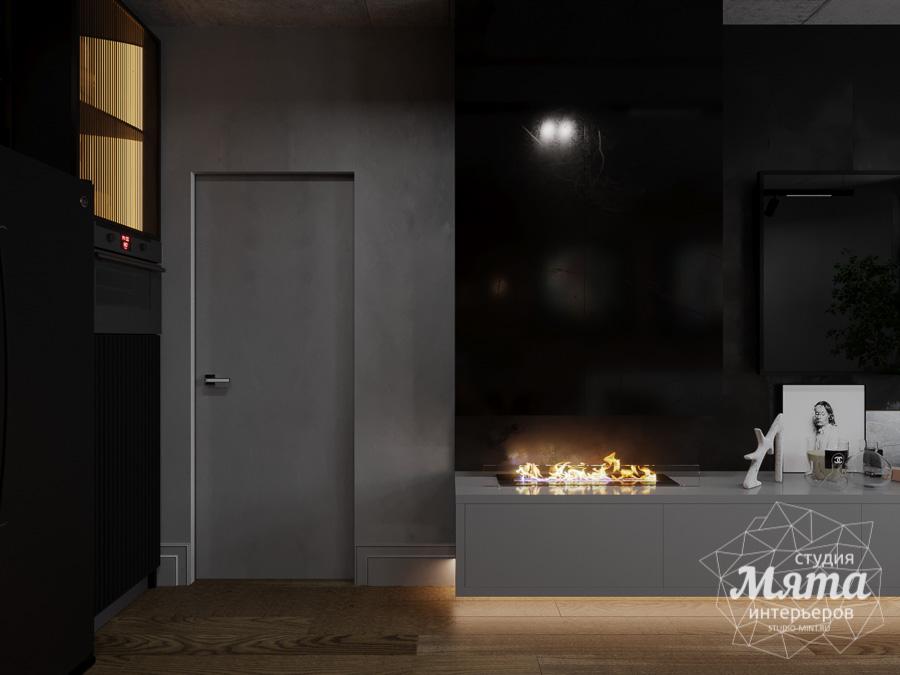 Дизайн интерьера квартиры в стиле лофт ЖК Солнечный Остров img48183988