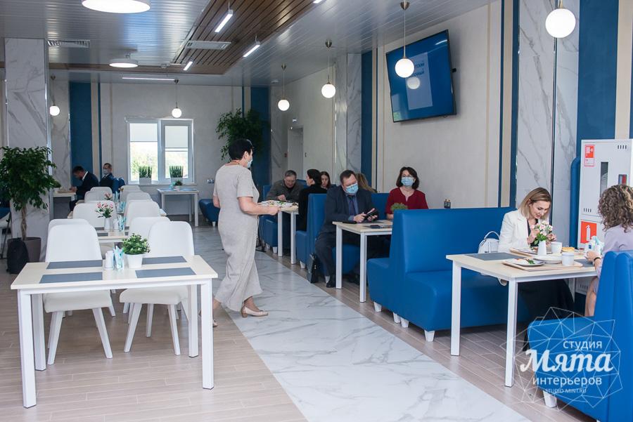 Дизайн интерьера и ремонт помещений для АО Ирбитский Молочный Завод 11