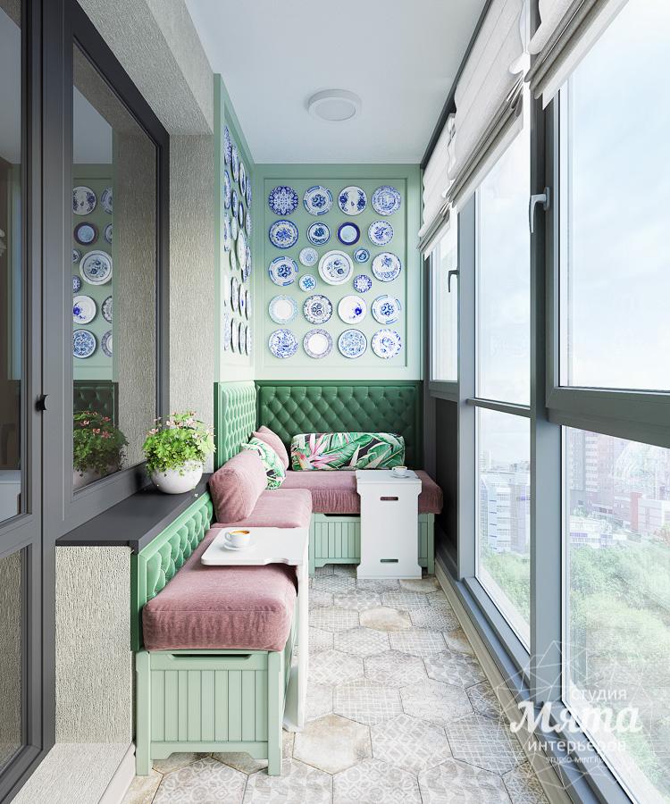 Дизайн интерьера двухкомнатной квартиры ЖК Ольховский парк img1081669973