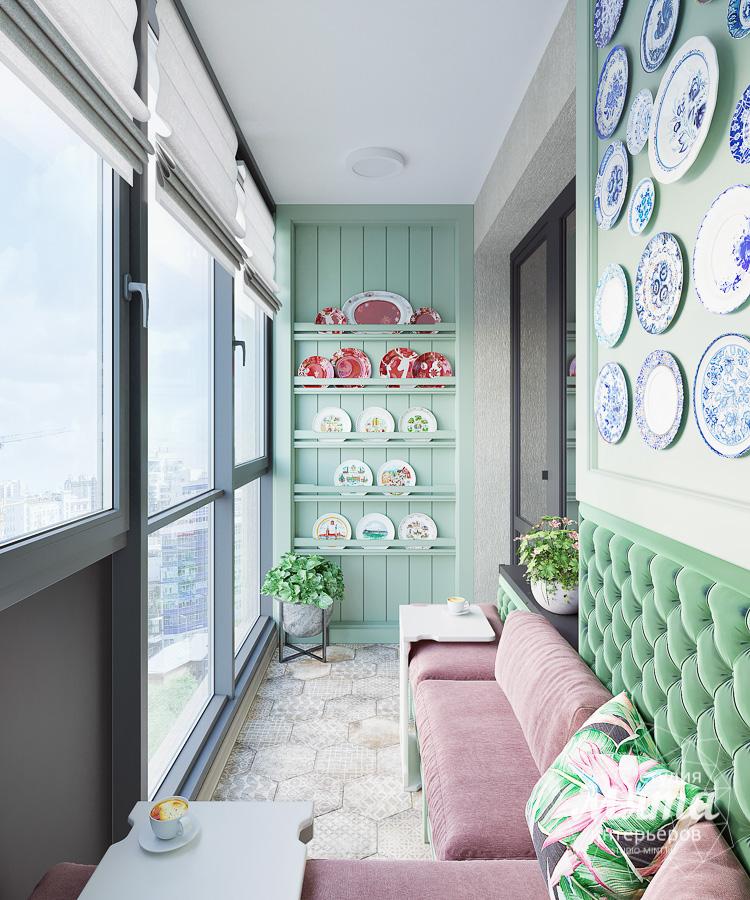 Дизайн интерьера двухкомнатной квартиры ЖК Ольховский парк img669821060