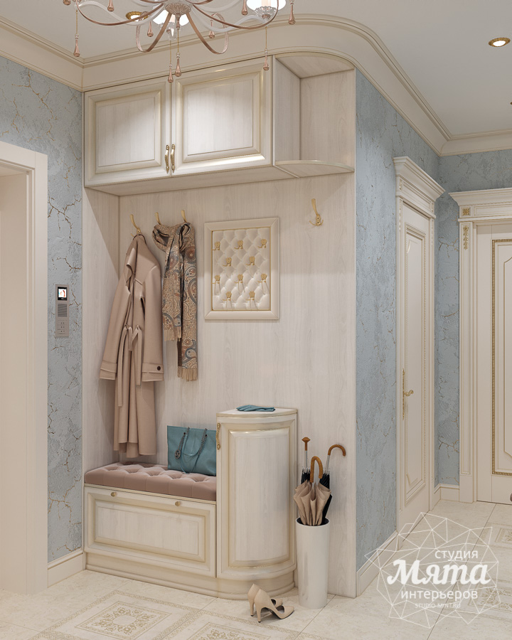 Дизайн интерьера двухкомнатной квартиры ЖК Ольховский парк img124415752