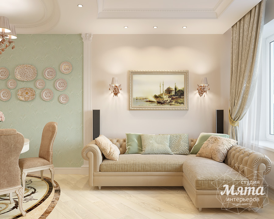 Дизайн интерьера двухкомнатной квартиры ЖК Ольховский парк img518130508
